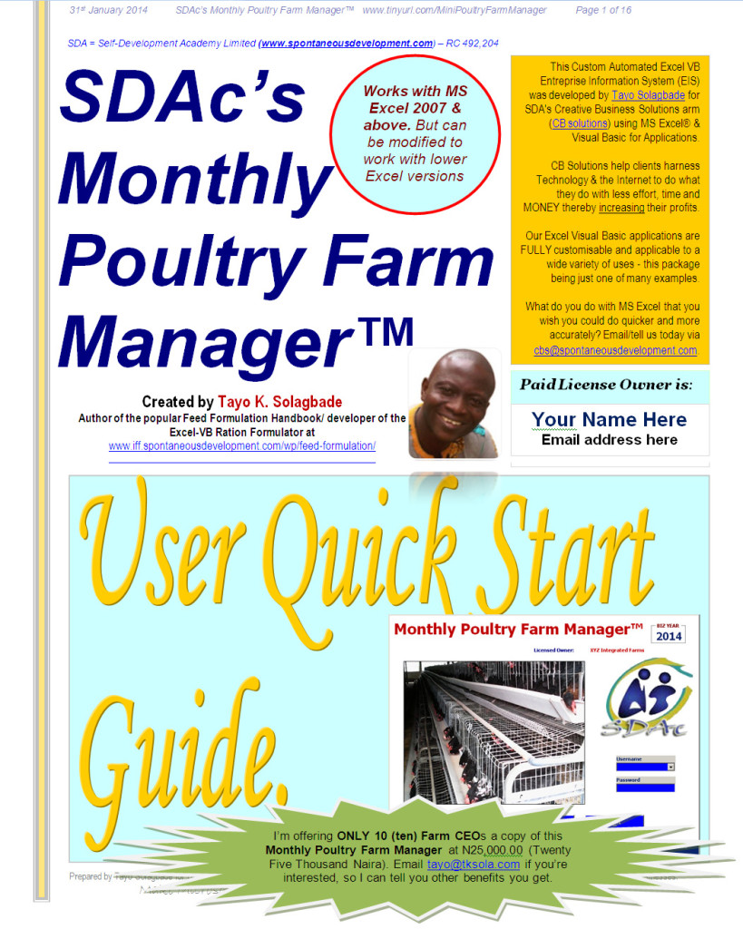 Poultry Farm Manager Software Free Download