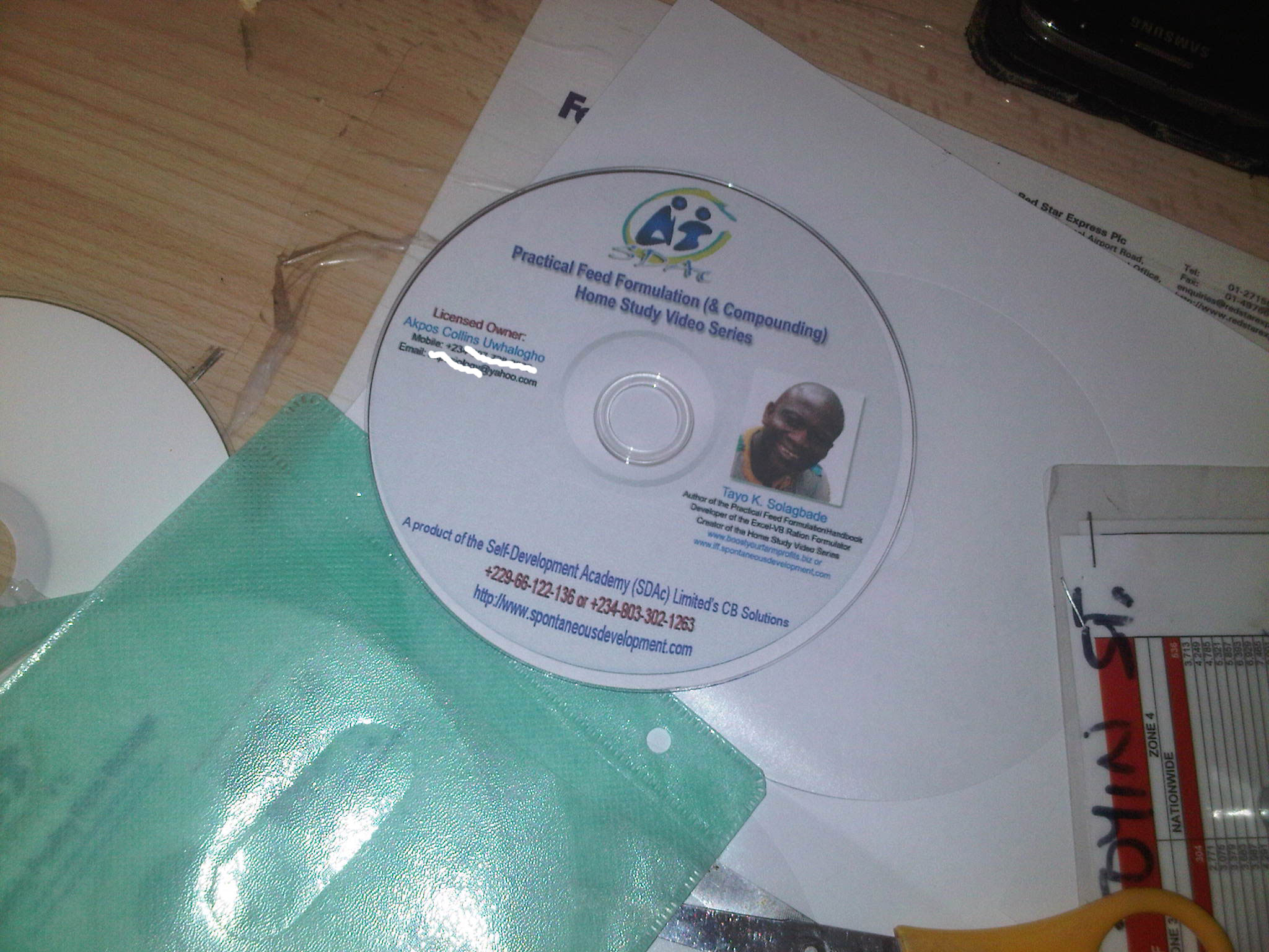 My new Practical Feed Formulation (& Compounding) Home Study Video Series DVD