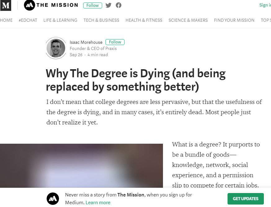 degree-dying