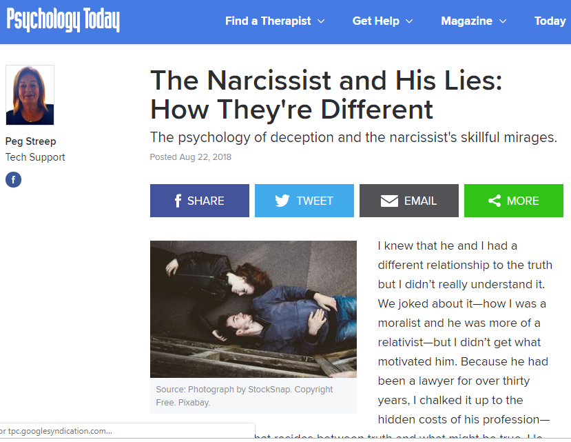 narcissist-lies