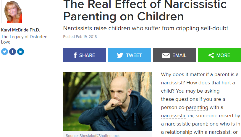 narcissist-real