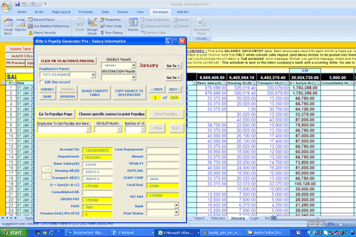 Prepare Pay slips Without Tears - And At Zero Cost - Using MS Excel ...