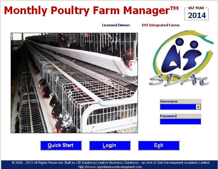 Click here to watch a screenshot demonstration of the Excel-VB Driven Poultry Farm Manager I built for a client farm business in Ekiti state, South West Nigeria.